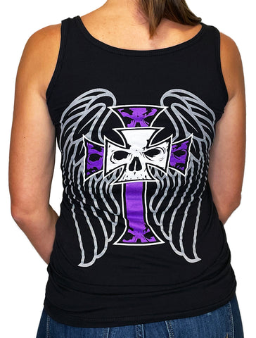 NEW! Women's Premium Deep V Black T-Shirt - Phoenix Rising 2.0