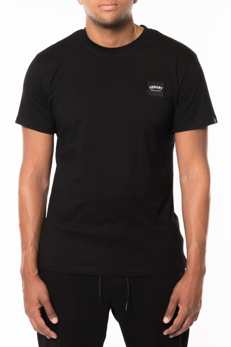 JUNGLE VISION BADGE T SHIRT BLACK - T-Shirts