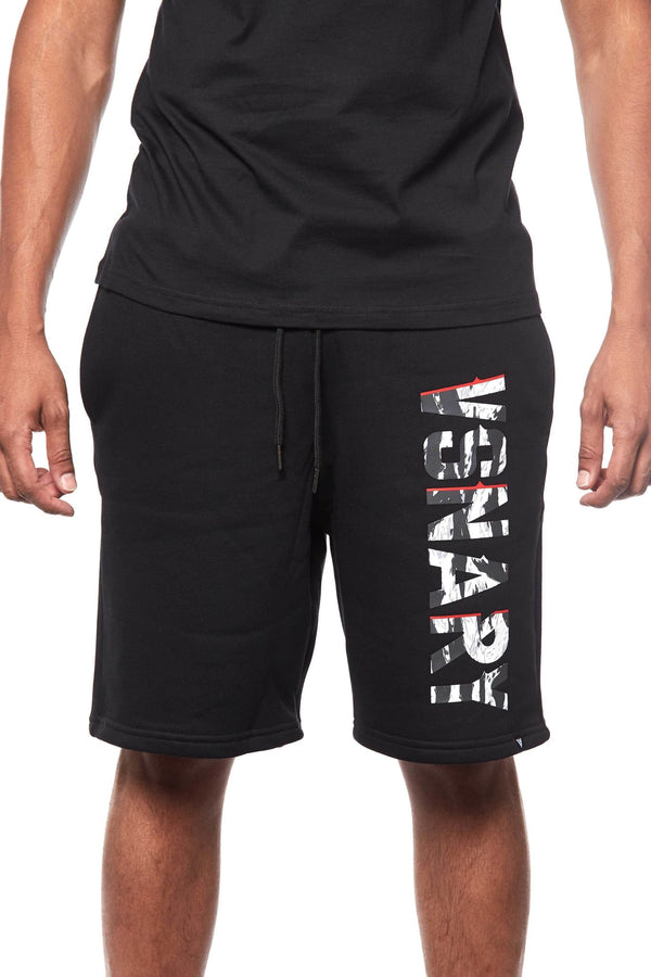 JUNGLE VISION SHORTS - BLACK - Shorts