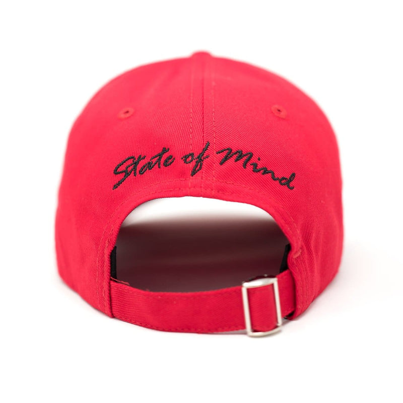 SIGNATURE VISION BASEBALL CAP - RED - Headwear