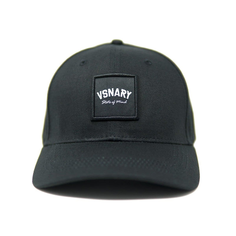 VSNARY BADGE BASEBALL CAP BLACK - Headwear