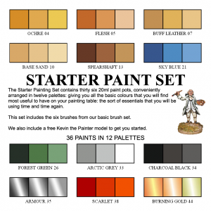 000 - The Starter Paint Set