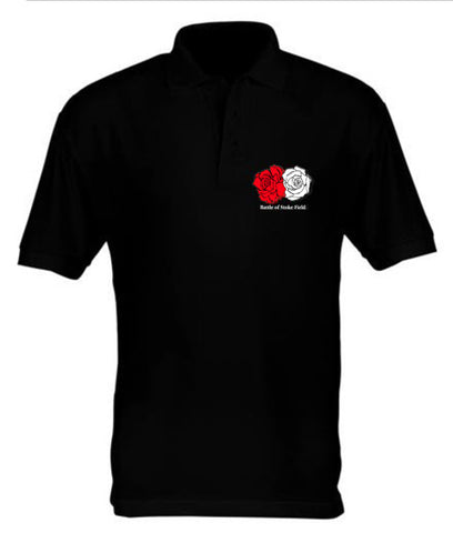 Battle of Stoke Field - Black Polo Shirt