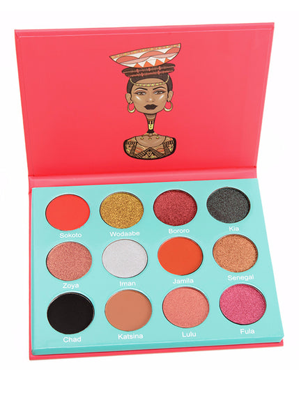 THE SAHARAN -EYESHADOW PALETTE BY JUVIA'S PLACE