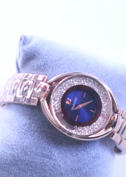 TRINKS- Swarowski crystal chain watch