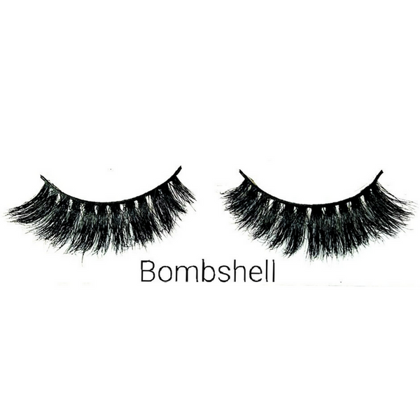 BOMSHELL 3D Mink Eyelashes by UBERCHIC VILLE
