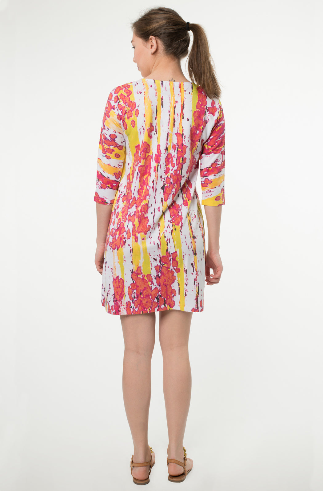 hawaiian neck dress mince - Atelier5
