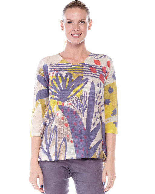 Ela Top in Berries Print - Atelier5