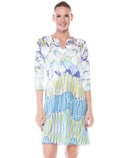 Hawaiian neck dress Courant - Atelier5