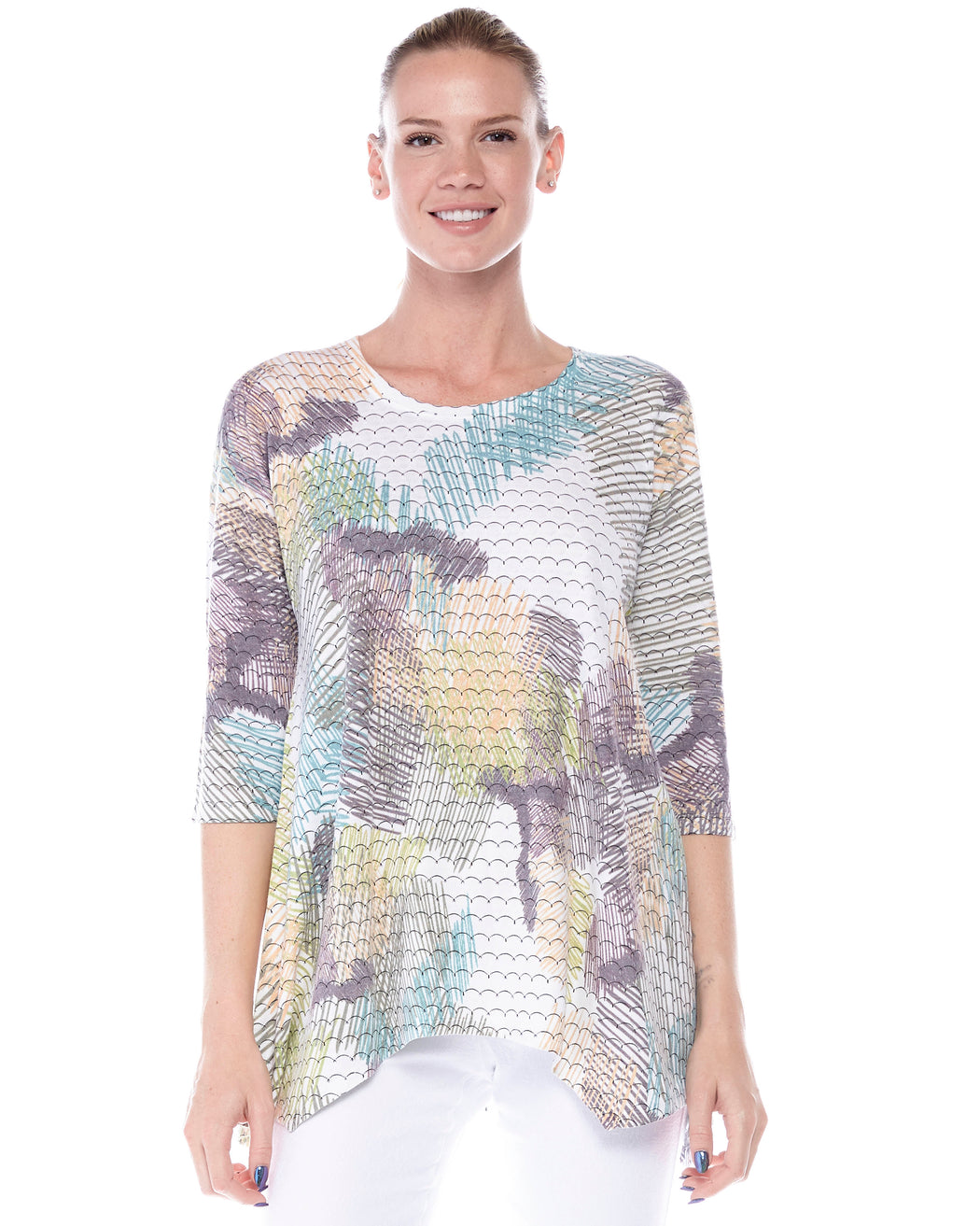 Azra Tunic Forest Palette