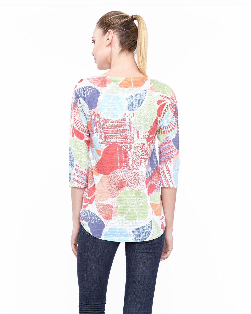 Tunic 2 in Cirque Print - Atelier5