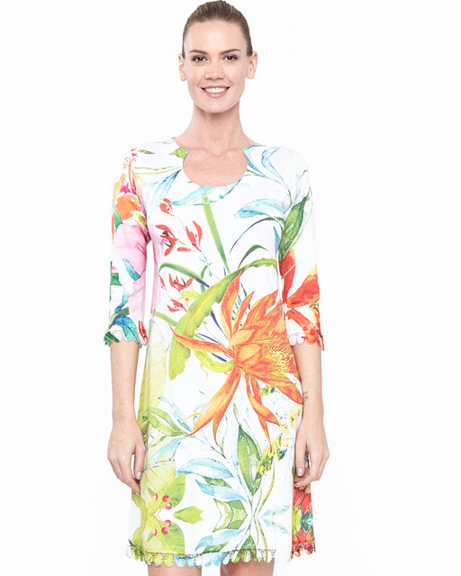 round neck dress Fleuriste - Atelier5