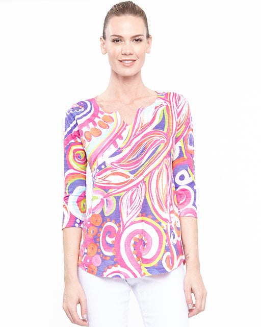 Tunic 2 in Party Pretty Print - Atelier5