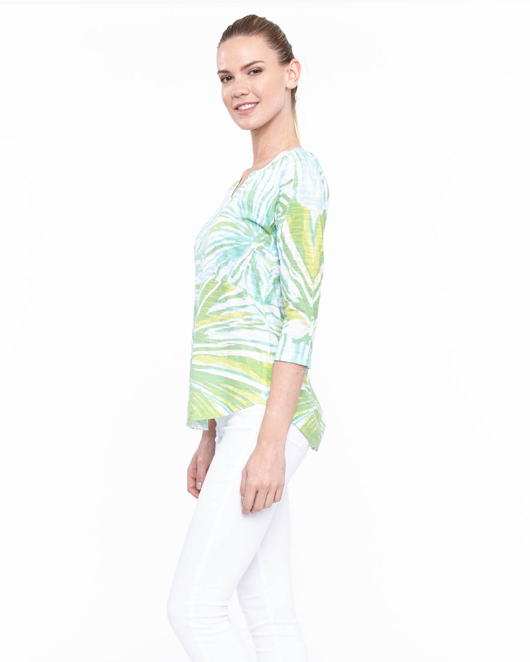Tunic 2 in Tropical Dream Print - Atelier5