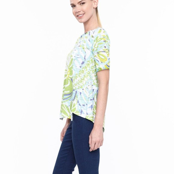 A-line Top in Daisy Daydreams Print