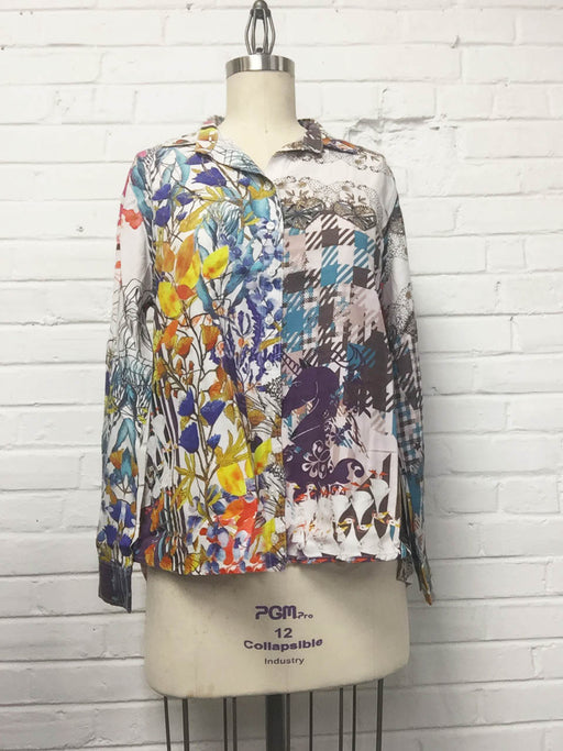 Button-up Shirt in Ducklings Print