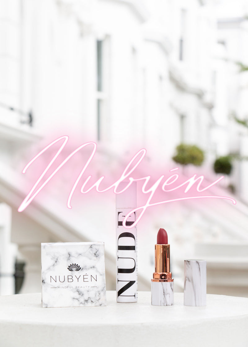 Get dewy skin with Nubyen Celestial highlighter.
