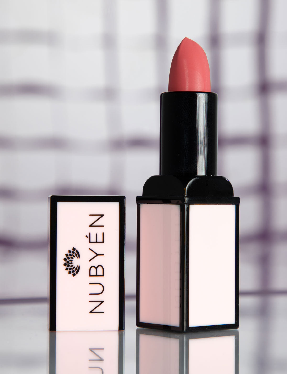 This is a vegan and cruelty free lip stick Nubyen Nude Tribal Matte lipstick