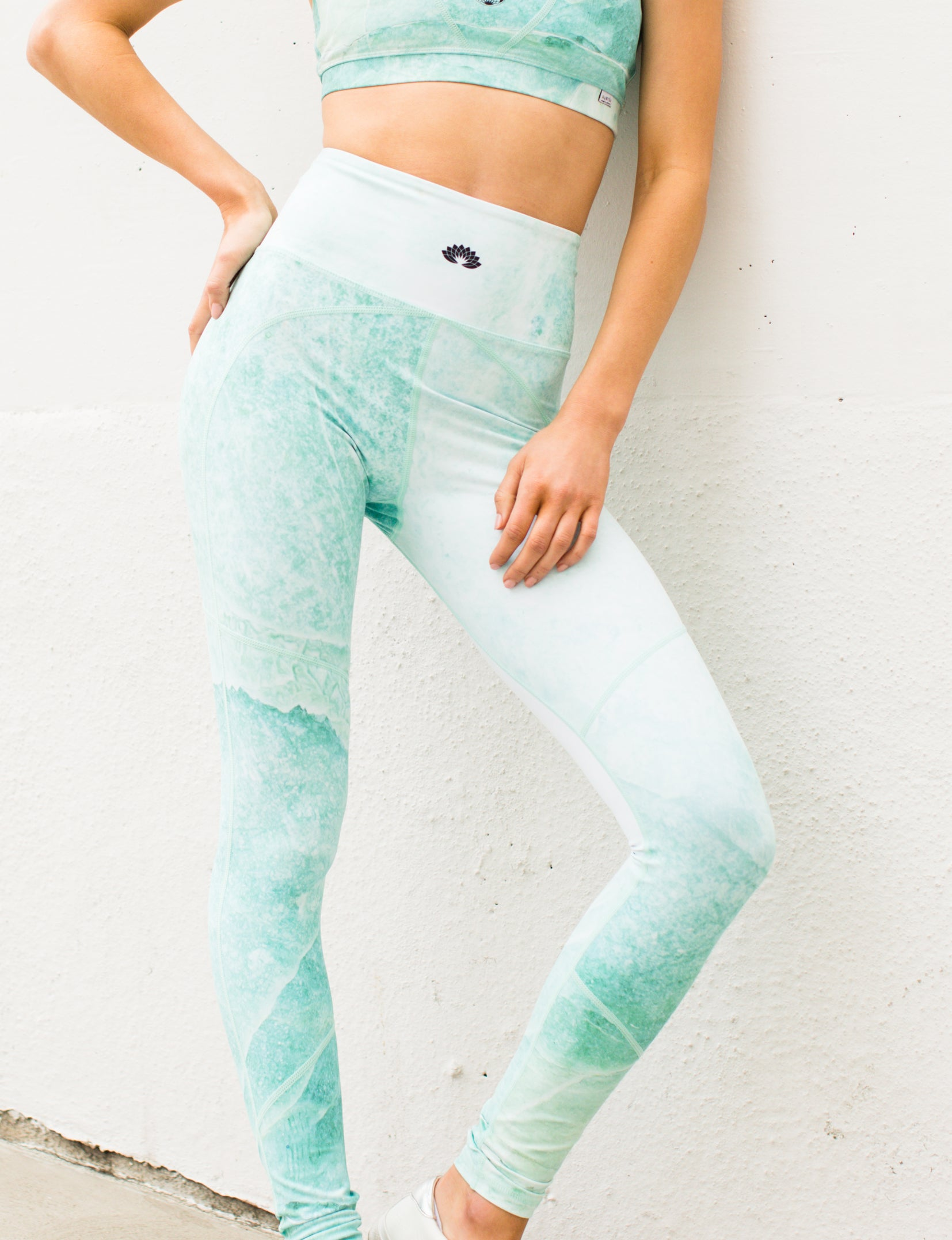 Nubyen best selling tulum activewear top and leggings