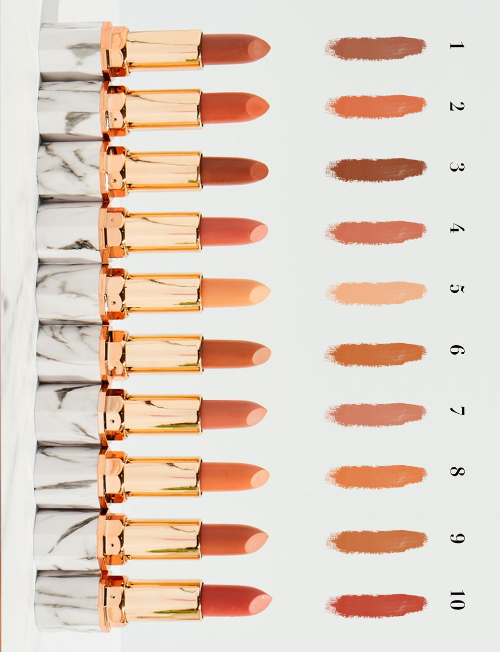 Plumping Matt Lipstick- Super Nudes - Nubyen-  Safe, Reversible & Alternative to Fillers