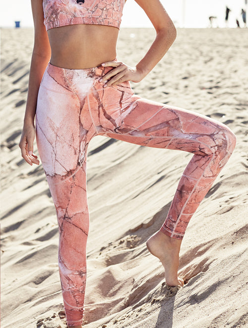 Santa Monica Second Skin Activewear Leggings - Nubyen