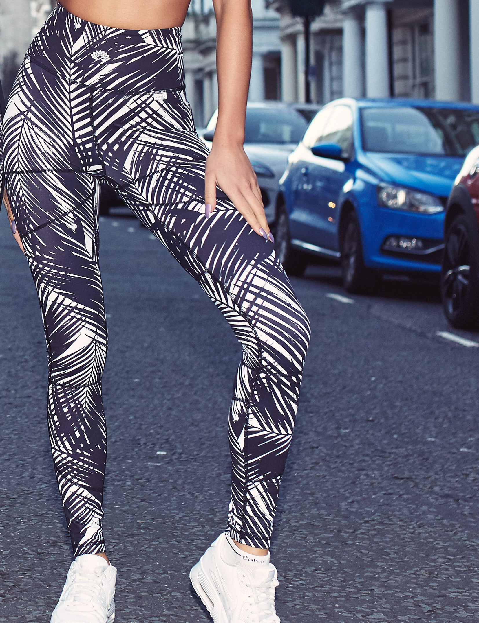 Nubyen Tribal best selling activewear top and leggings