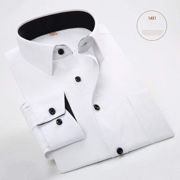 Business Casual Full Sleeve Shirt-Shirt-REEMYU