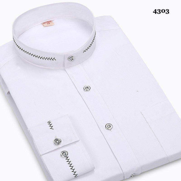 Business Casual Regular Dress Shirt-Shirt-REEMYU
