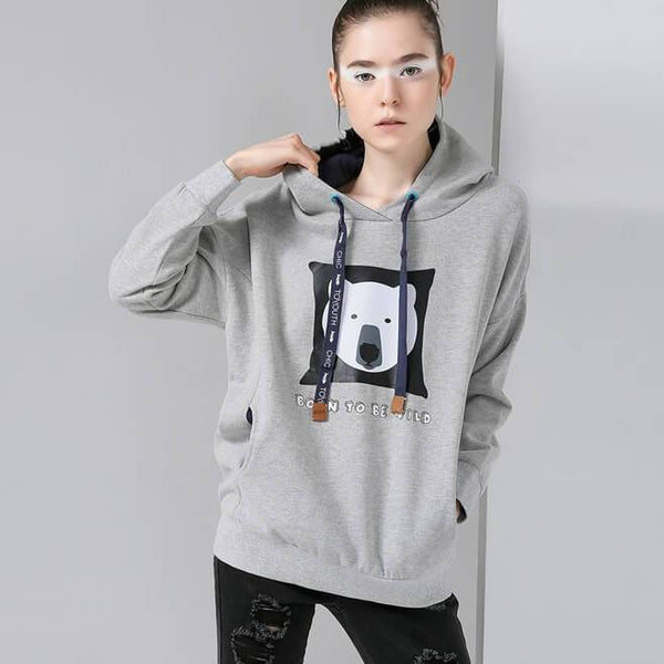 Cartoon Print Casual Cardigans-Pullovers-REEMYU