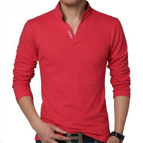 Casual Slim Fit Cotton T-Shirt-T-Shirt-REEMYU