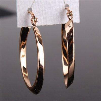 Ladies Circle Hoop Earring-Earring-REEMYU