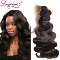 3PCS 7A Brazilian Virgin Hair Body Wave Unprocessed