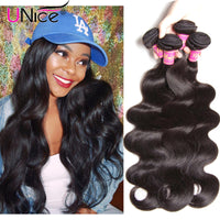 Brazilian Virgin Hair Body Wave 3pcs 7A