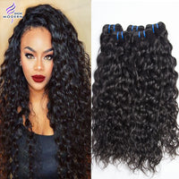 Brazilian Virgin Hair Water Wave Unprocessed 4 Bundles