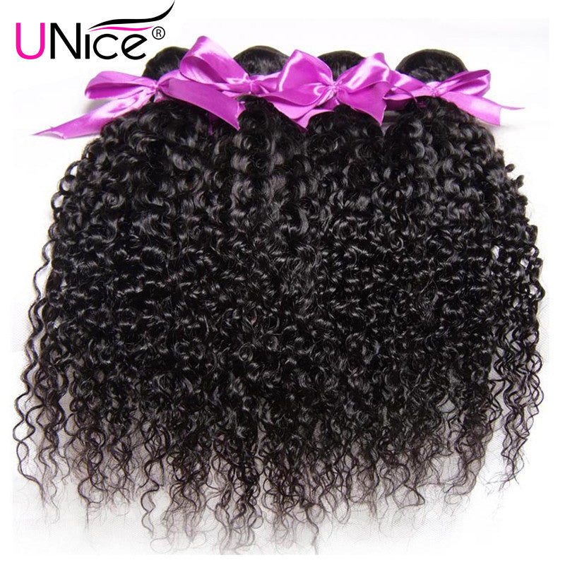 7A Brazilian Curly Virgin Hair 4PCS