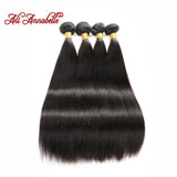 Brazilian Hair Weave Bundles 8A 4PC