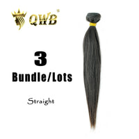 10''~28'' Straight 3 Bundle QWB Virgin Brazilian Hair