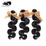 7A Unprocessed 3Pcs Body Wave Brazilian Virgin Human Hair