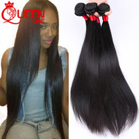 Mink Brazilian Virgin Hair Straight 4 Pcs