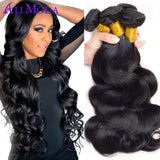 Brazilian Virgin Hair Body Wave 3pcs 1b Unprocessed