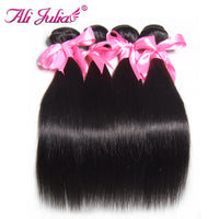 Brazilian Virgin Hair Straight Weave 3 Bundles Unprocessed