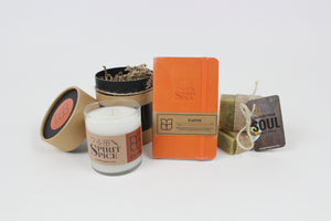 Handcrafted Scented Soy Candle with Gift Box FAITH Gift For Your Soul