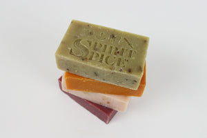 Handcrafted Scented LOVE Soap - Smooth, Light And Citrusy Soap Bar Made with Essential Oils - Spirit Spice
