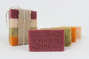 Spirit Spice Collection  Scented Soap 4 pack - Spirit Spice