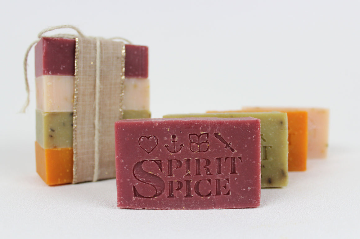 Spirit Spice Collection  Scented Soap 4 pack