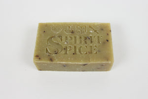 Handcrafted Scented FAITH Soap - Pure Mint Essential Oils And Organic Peppermint Leaf - Spirit Spice