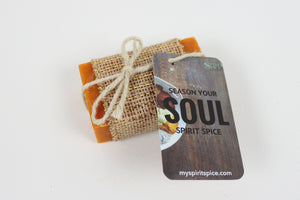 Handcrafted Scented TRUTH Soap - Citrus Blend Of Essential Oils with Hints Of Lavender - Spirit Spice