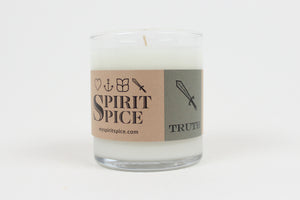 Spirit Spice Collection -  Handcrafted Scented Soy Candles 8oz 4 Pack with Black Tea Tree Healing Soap - Spirit Spice