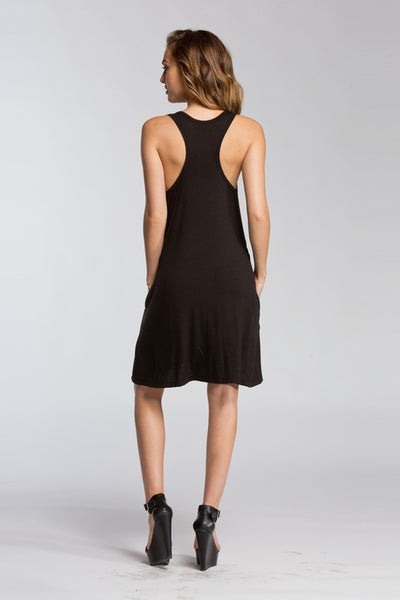 Chrissy Razor Back Tank Dress