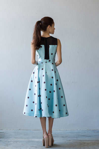flare fun elegant midi dress